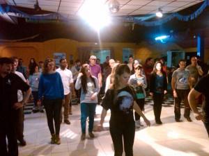 Taller de Salsa en Linea en el III Encuentro de Salsa 2011
