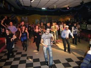 Aminaciones en la Fiesta Show del II Encuentro de Salsa 2011