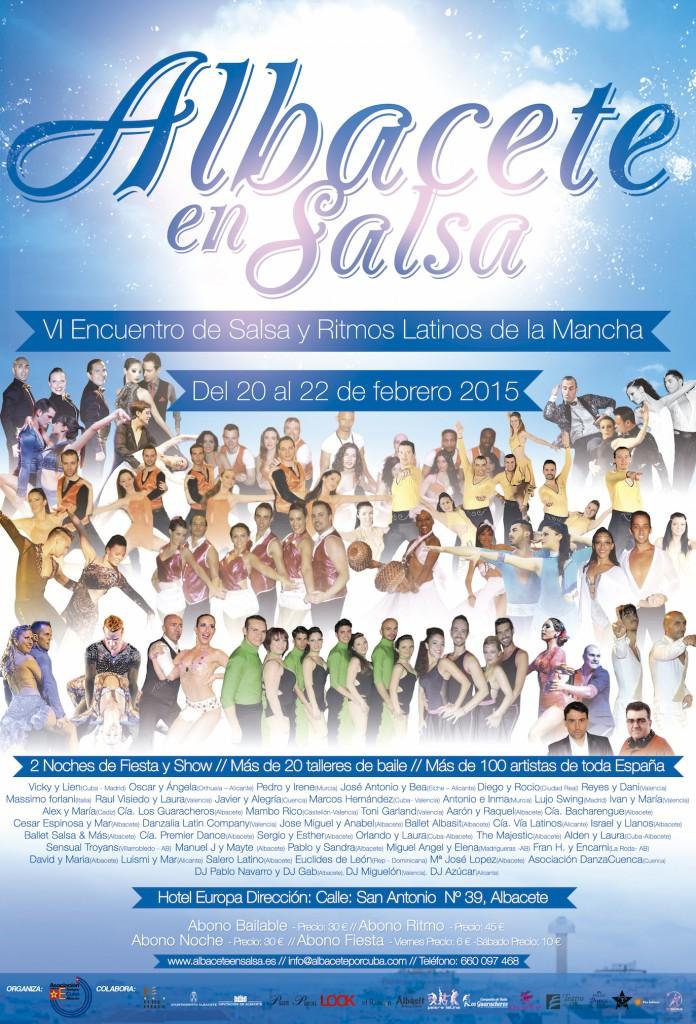 Cartel del Albacete en Salsa 2015 copia